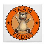 Team Teddy Bear Coaster Tile