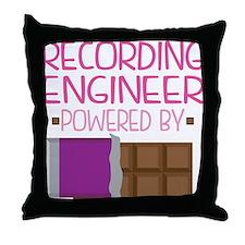 Recording Engineer Throw Pillow