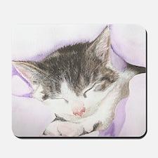 'Lily' Cat Mousepad