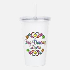 Line Dancing Lover Acrylic Double-wall Tumbler
