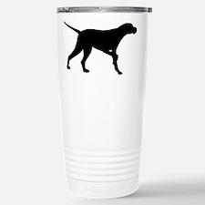 Pointer Dog On Point Stainless Steel Travel Mug