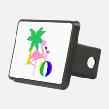 Pink Flamingo Tourist Hitch Cover