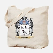 Giovani Coat of Arms - Family Crest Tote Bag