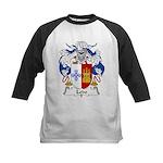 Ledo Family Crest Kids Baseball Jersey