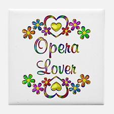 Opera Lover Tile Coaster