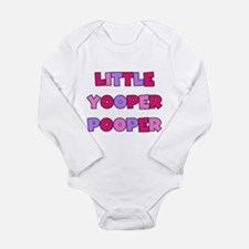 Funny Funny yooper Long Sleeve Infant Bodysuit