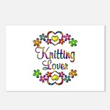 Knitting Lover Postcards (Package of 8)