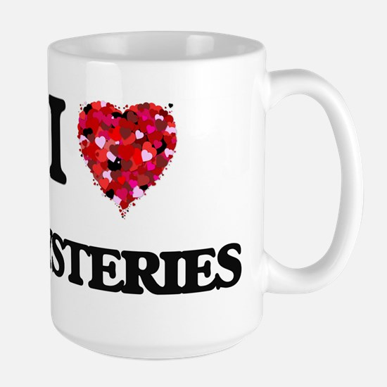 I Love Mysteries Mugs