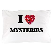 I Love Mysteries Pillow Case