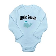 Little Cousin Whale Body Suit