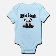 Little Cousin Panda Body Suit