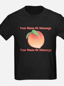 PERSONALIZED Peach Cute T-Shirt
