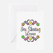 Ice Skating Lover Greeting Card