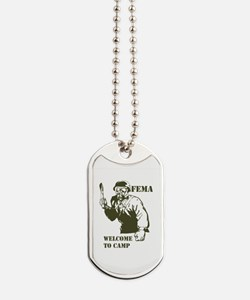 Cute Concentration Dog Tags