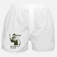 Funny New world order Boxer Shorts