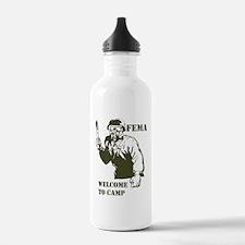 Cute New world order Water Bottle