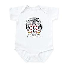 Leal Family Crest Infant Bodysuit