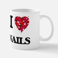 I Love Nails Mug
