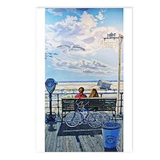 Jones Beach Boardwalk Postcards (package Of 8)