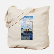 Jones Beach Boardwalk Tote Bag