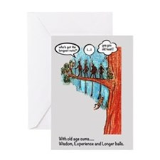 Longer balls Greeting Cards
