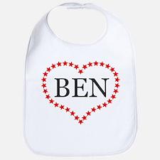 I Love Ben Carson Bib