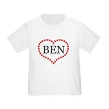I Love Ben Carson T-Shirt