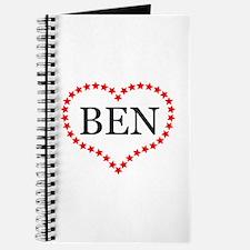 I Love Ben Carson Journal