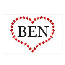 I Love Ben Carson Postcards (Package of 8)