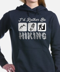 I'd Rather Be Hiking Women's Hooded Sweatshirt