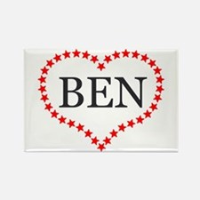 I Love Ben Carson Magnets