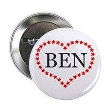 "I Love Ben Carson 2.25"" Button (10 pack)"