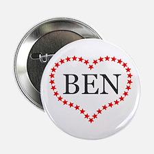 "I Love Ben Carson 2.25"" Button (10 pack)"