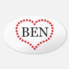 I Love Ben Carson Decal