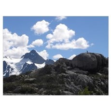 Mount Baker View Poster