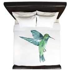 Hummingbird King Duvet