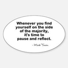 Pause And Reflect Decal