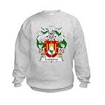 Lacueva Family Crest Kids Sweatshirt