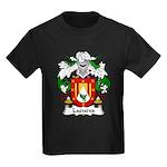 Lacueva Family Crest Kids Dark T-Shirt