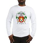 Lacueva Family Crest Long Sleeve T-Shirt