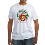 Lacueva Family Crest Fitted T-Shirt