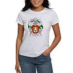 Lacueva Family Crest Women's T-Shirt