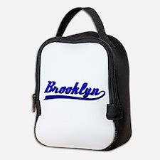 Brooklyn Comic Book Style Neoprene Lunch Bag