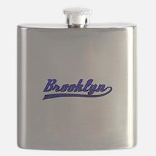 Brooklyn Comic Book Style Flask