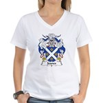 Joanes Family Crest Women's V-Neck T-Shirt