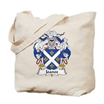 Joanes Family Crest Tote Bag