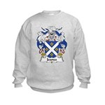 Joanes Family Crest Kids Sweatshirt