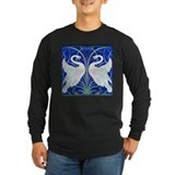Swan Long Sleeve Dark T-Shirts