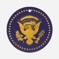 Gold Presidential Seal, VIP, The Ornament (Round)