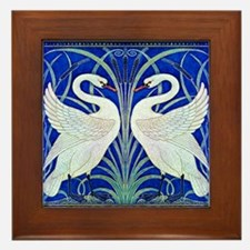 The Swans By Walter Crane Framed Tile